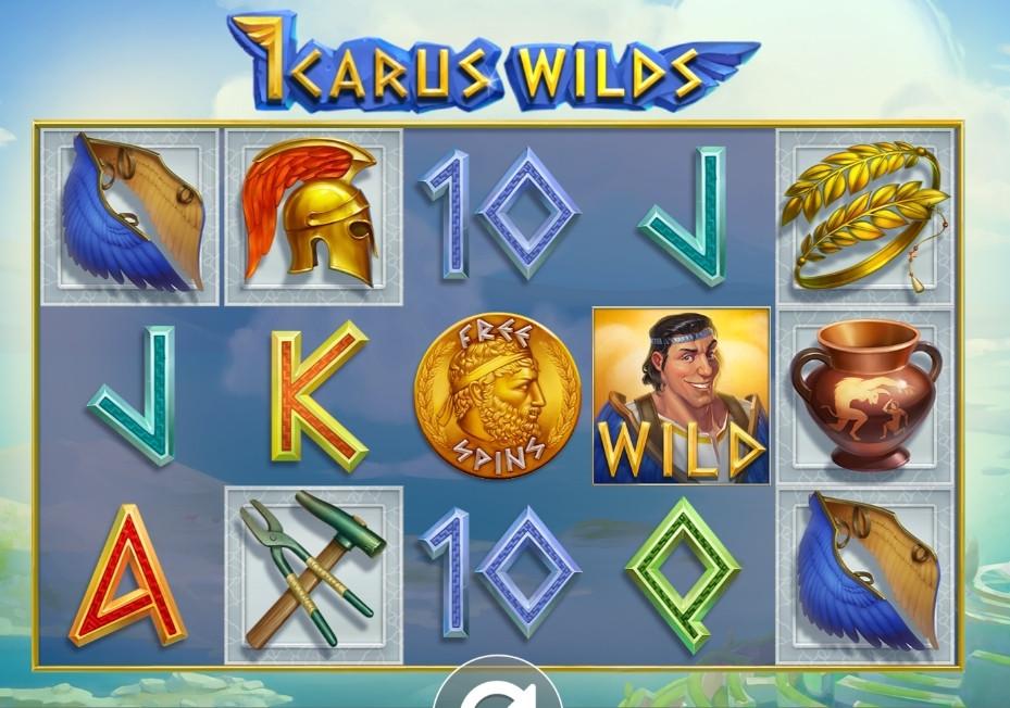 Speedy Casinolla pääsee pelaamaan STHLMGAMINGin uutuuspeliä Icarus Wilds