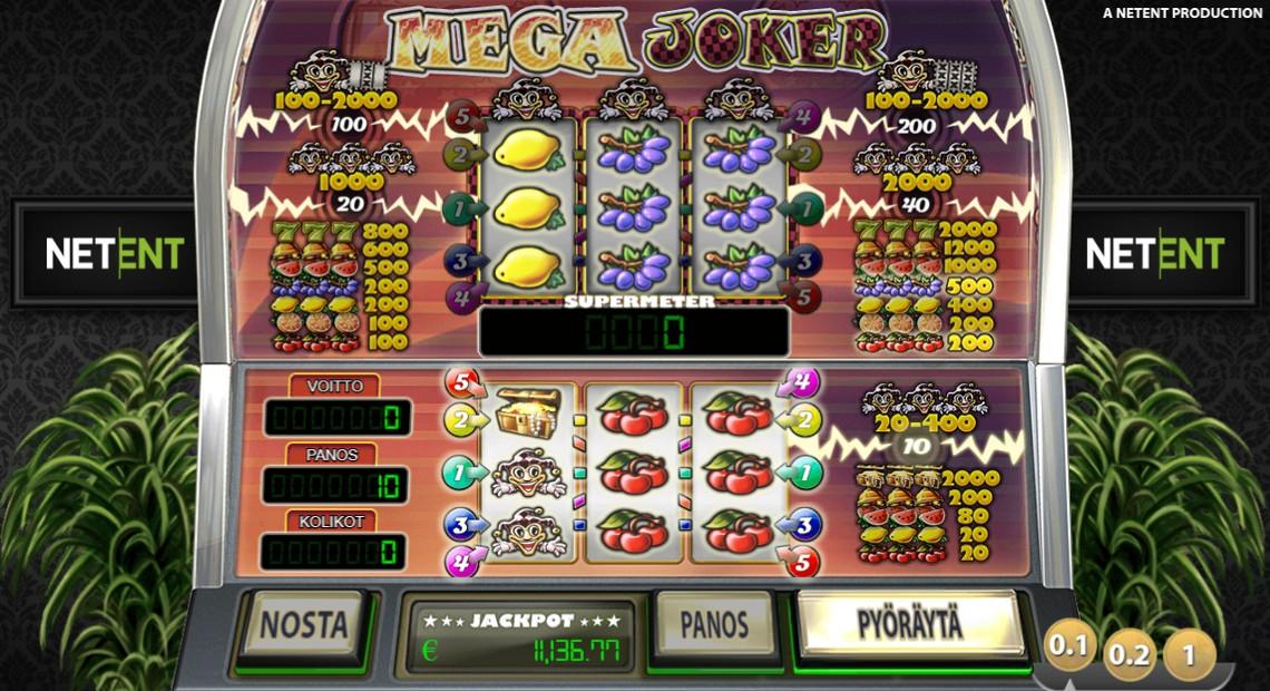 Mega Joker on NetEntin luoma kolikkopeli